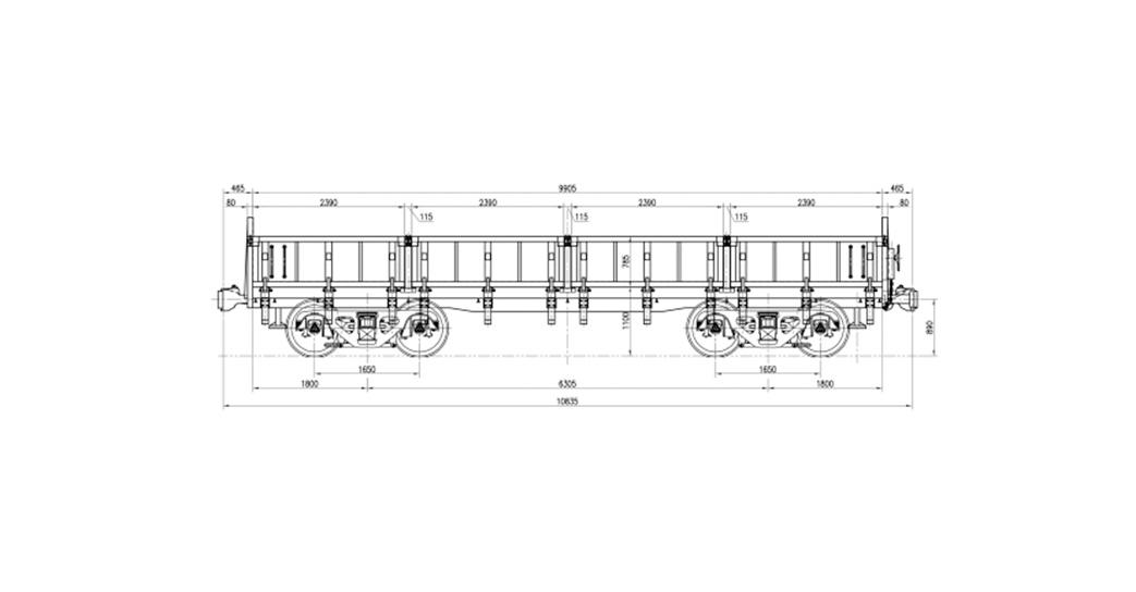 Gondola Wagon