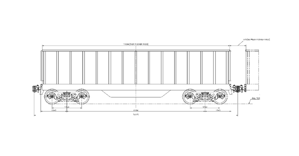 CCL-3 Type Coal Wagon